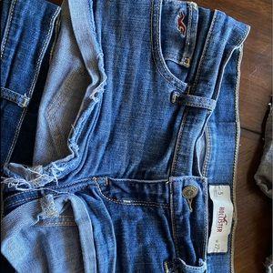 Hollister jean shorts